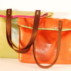 Bright Bold Vegan Leather